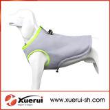 Veste refrigerando do cão confortável respirável do treinamento do engranzamento