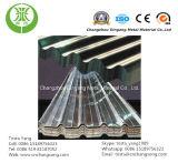 Folha de alumínio ondulada para o armazém, a telhadura e o tapume