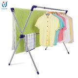 O X-Tipo de secagem do agregado familiar das cremalheiras do aço inoxidável veste o gancho de roupa da cremalheira