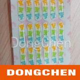 Etiqueta de cristal barato impressa quente da abóbada da resina Epoxy da venda