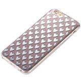 iPhone 7을%s 저속한 반짝임 TPU Kickstand 이동할 수 있는 셀룰라 전화 상자
