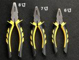 Alicates de combinación, alicates de corte, herramienta de mano, herramienta de reparación
