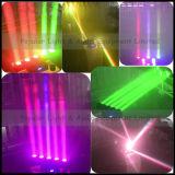Luz principal movente do feixe do diodo emissor de luz da iluminação 5X12W RGBW 4in1 do diodo emissor de luz do disco do estágio