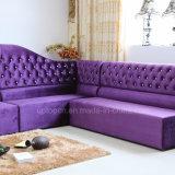 Sofà elegante della mobilia del ristorante del tessuto dell'atmosfera per il salone (SP-KS370)