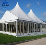 Tentes extérieures de noce d'espace libre de chapiteau en verre de PVC