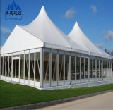 Стеклянный шатер свадебного банкета случая партии PVC ясности для сбывания