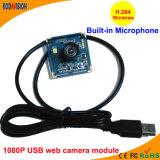 cámara RoHS del IP de la cámara de color del USB 1080P