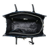 Desenhos de moda high-end de Crocs Bolsas de ombro de couro para sacos para mulheres
