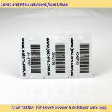 Fobs 3-Operation chaves plásticos das cores cheias (cartões) com código de barras