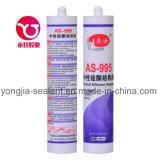 Sellador de silicona estructural de pared de cortina de vidrio adhesivo de construcción (AS-995)