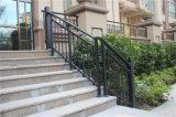 Haohanは優雅なヨーロッパのオーストラリアの電流を通された鋼鉄階段手すり13をカスタマイズした