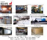 Perfil de transição de alumínio com inserto de PVC