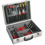 Cassa di alluminio dello strumento per gli strumenti che impaccano con la gomma piuma ed il sacchetto del ritaglio