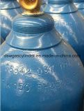 Cilindro de gás do oxigênio de China 40L