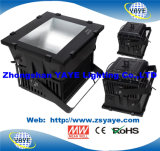 Yaye 18 Design plus récent 600W / 800W / 1000W LED Flood Light / LED Floodlight avec chips CREE / Meanwell Driver / 5 ans de garantie