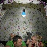 Lampadina d'attaccatura esterna della tenda di campeggio dell'indicatore luminoso molle LED