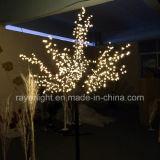 Baum-Zweig-Lichter des 2.4m Handelskirschweihnachtenled für Festival-Dekoration
