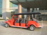 Automobile elettrica dell'annata delle 8 sedi, automobile facente un giro turistico di E