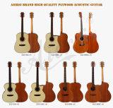 Guitare acoustique célèbre mondiale de Wholeslae d'usine chinoise d'Aiersi