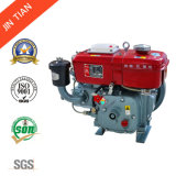 охлаженный водой одиночный двигатель дизеля цилиндра 4-Stroke (JR165)