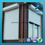 Doble hacia arriba del rodillo de puerta de persiana de la ventana de garaje de aluminio Perfil