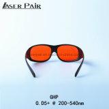 Laser schützend und Laser-Schutzbrille-medizinische 532nm Lasersicherheits-Schutzbrille-Lasersicherheits-Schutzbrille Ghp 200-532nm für Laser-Ausschnitt-Maschine, Heizung, Haut-Schönheit