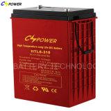 Il gel a temperatura elevata della batteria 6V420ah dell'UPS, 50% Dod arriva 1500cycles