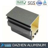 Perfil de alumínio da extrusão com o revestimento do pó para a porta do indicador