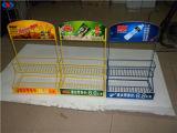 Crémaillère d'étalage promotionnelle de boissons de supermarché fait sur commande