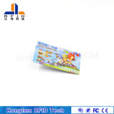 Tarjeta elegante modificada para requisitos particulares del papel revestido RFID para la tarjeta del VIP