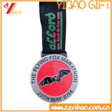 Cadeau fait sur commande de souvenir de cadre de médaille de qualité de logo/médaille (YB-HD-140)