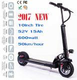 500watt 50km pro Ladung-Roller-elektrischen Mobilitäts-Roller