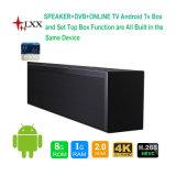 Fabrik-Zubehör-Haupttheater-Systems-Lautsprecher mit Android 5.1 Fernsehapparat-Kasten 4k Fernsehapparat-Fernsehapparat-Ausgabe