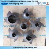 Ventola centrifuga della pompa del contrassegno 3 di Durco dell'acciaio inossidabile della pompa di industria