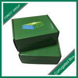 Cadre de empaquetage d'impression de vert de limette