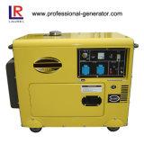 6kw elektrische Diesel van het Begin Geluiddichte Generator
