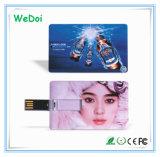 Привод вспышки USB кредитной карточки с подгонять логос (WY-C08)