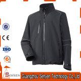 Куртка напольной пущи хлопка работая для людей с застежкой -молнией