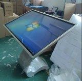"""55 """" kiosque interactif androïde infrarouge de contact d'affichage à cristaux liquides d'écran tactile du large écran IR"""