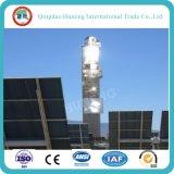 espejo solar 4.0m m inferior de la central eléctrica del hierro de 1.1m m 3.2m m