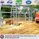 Sinoamceからの軽い鋼鉄構築/門脈フレームの鋼鉄倉庫