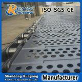 Поясы ячеистой сети шарнира транспортера плит нержавеющей стали стальные