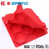 Viande Hamburger Moule Silicone 8 trous Outils hexagonaux