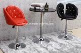최고 디자인 PU 바 의자, 현대 조정가능한 회전대 발판 (LL-BC073)