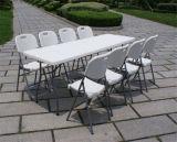 8 футов складного стола прямоугольной формы с одной из частей сверху, событий, банкетов в таблице