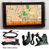2018 Promoção 4.3Inch Carro Navegador GPS portátil com ISDB-T TV Wince Bluetooth 6.0