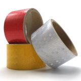 ベストセラーPVC安全注意の反射粘着テープ