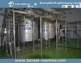 La bebida suave del gas carbonató la máquina de rellenar de la bebida de la bebida para la planta de embotellamiento