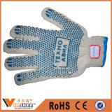 Определите/двойные поставленные точки перчатки хлопка связанные перчатками