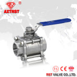 шариковый клапан 304 3PC продетый нитку нержавеющей сталью (Q11F)